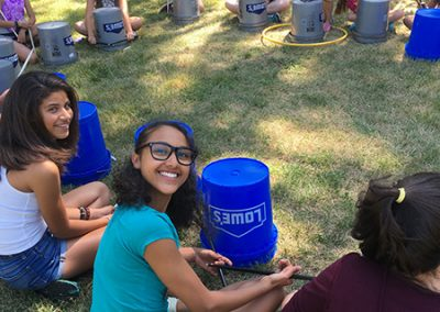 Bucket Drumming fun